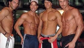 <!--:es-->'Contactaron'a las regias! &#8230;Además de enseñar sus músculos, los chavos bailaron y cantaron aritmo de reggaetón!<!--:-->