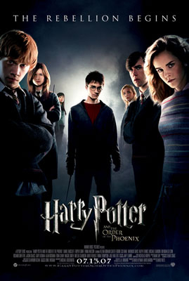 <!--:es-->Harry potter and the order of the phoenix. Release Date: July 11th 2007 (wide)<!--:-->