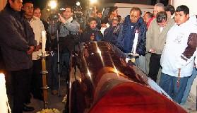 <!--:es-->Despiden con música a Sergio Gómez . . . Encontraron al cantante sin vida el día de ayer en un paraje del camino Morelia-Chiqumitío<!--:-->