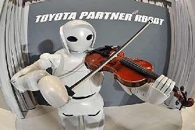 <!--:es-->Devela Toyota robot que toca el violín<!--:-->