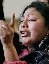 <!--:es-->Iglesia albergó a otra indocumentada …Se trata de la mexicana, Flor Crisóstomo<!--:-->