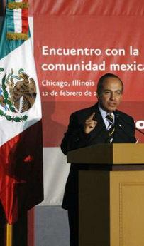 <!--:es-->Urge Calderón en EEUU a Acuerdo Migratorio<!--:-->
