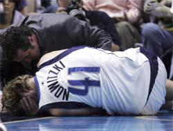 <!--:es-->Nowitzki fuera indefinidamente . . . Los Mavericks en grandes problemas!<!--:-->