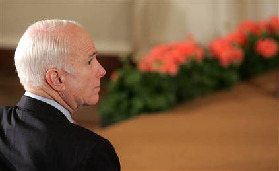<!--:es-->McCain's path to victory A Republican can win the White House, but first he needs an opponent<!--:-->