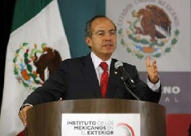 <!--:es-->Calderon pushes for investment in Mexico<!--:-->