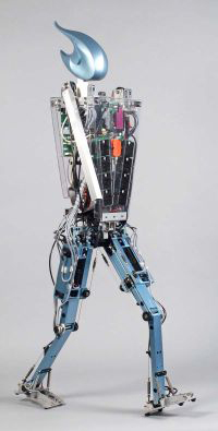 <!--:es-->Dutch robot Flame walks like a human . . . TU Delft is leading in constructing walking robots which are based on the way humans walk. Credit: TU Delft<!--:-->