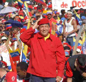 <!--:es-->Venezuela's Chavez pushes through 26 decrees<!--:-->