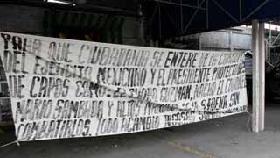 <!--:es-->Aparecen narcomantas en Nuevo Laredo …Soldados del Ejército Mexicano retiraron los mensajes<!--:-->