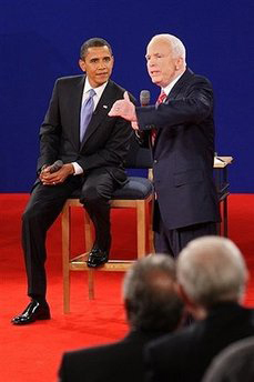 <!--:es-->McCain, Obama compete for voters' trust on economy<!--:-->