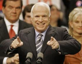 <!--:es-->McCain says racism will barely affect election<!--:-->