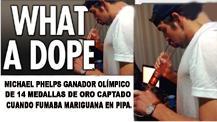 <!--:es-->Phelps perdería patrocinadores! …Por su consumo de marihuana<!--:-->
