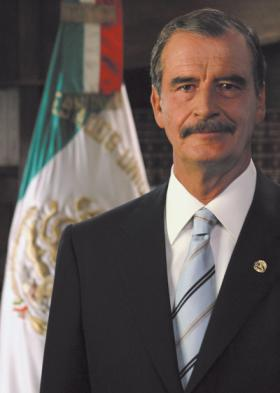 """<!--:es-->UNT to present lecture by former Mexican President Vicente Fox …""""Bringing the New Economy to Latin America""""<!--:-->"""