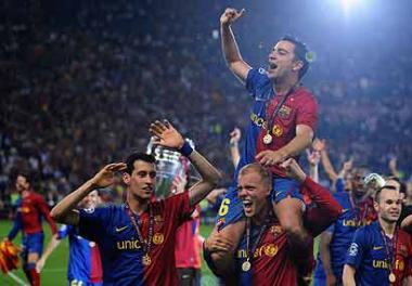 """<!--:es-->Barça se llevó la """"Champions"""" . . . Venció 2-0 al Manchester United<!--:-->"""