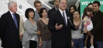 <!--:es-->Freed journalists home in US after NKorea Pardon<!--:-->