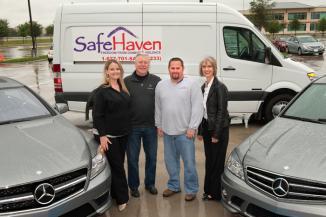 <!--:es-->Mercedes-Benz Financial Services USA LLC presents Sprinter Van to Safe Haven of Tarrant County<!--:-->