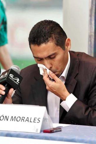 <!--:es-->Anuncia Ramón Morales su retiro 'Ramoncito' se dijo tranquilo y afirmó que se va bien del futbol<!--:-->
