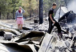 <!--:es-->Firefighters have yet to control Texas wildfire<!--:-->