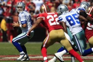 <!--:es-->Romo y los Dallas Cowboys se sacaron la espina y vencieron en tiempo extra a SF<!--:-->