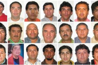 <!--:es-->Los 33 mineros celebran un año rescatados sumidos en la pobreza &#8230;Se fugan datos del infierno de los primeros 17 días en las entrañas de la Tierra<!--:-->