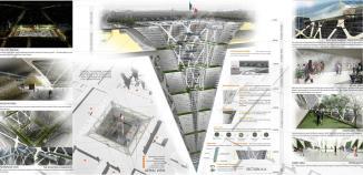 <!--:es-->Proponen arquitectos 'rascasuelos' …El 'rascasuelos', con una base de lo que mide el Zócalo y 65 pisos hacia abajo, plantea áreas verdes, comercios, viviendas y oficinas<!--:-->