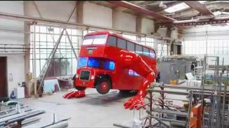 <!--:es-->Autobús londinense que hace lagartijas …Una obra de arte para festejar los Juegos Olímpicos 2012.<!--:-->