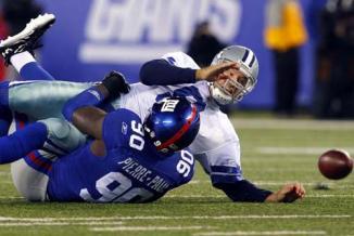 <!--:es-->Buscan Vaqueros aprender de derrotas …Vaqueros visita a Gigantes en el primer juego de la temporada 2012 de la NFL<!--:-->