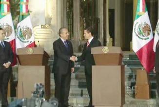 <!--:es-->Calderón y Peña Nieto acordaron transición ordenada …Sostuvieron su primera reunión en la residencia presidencial<!--:-->