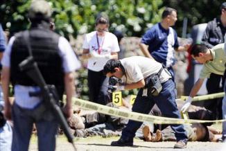 <!--:es-->Mueren 10 personas en choque entre militares y un grupo armado en el sur de México<!--:-->