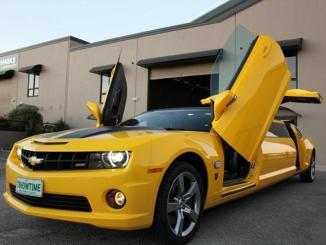 <!--:es-->Chevrolet Camaro transformado en limusina …Aplicando elementos de la película Transformers, propone un paseo muy particular.<!--:-->