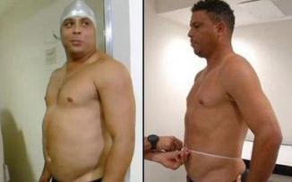 <!--:es-->Pierde Ronaldo 20 kilos en tres meses …Ronaldo comenzó el reality show pesando 118 kilos …El sacrificio valió la pena.<!--:-->