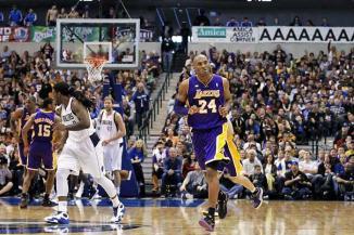 <!--:es-->Lakers derrota a Mavericks  103-99 …Comanda Kobe a su equipo al triunfo<!--:-->