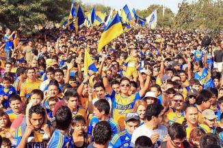 <!--:es-->No llenan de invadir …Apenas salían del Estadio Alfonso Lastras tras realizar su mayor invasión, y los aficionados de Tigres ya apuntaban a otra.<!--:-->
