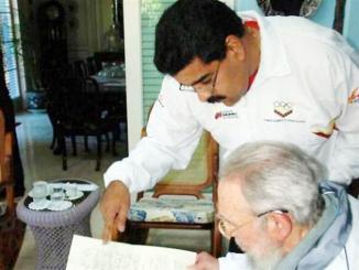<!--:es-->Nicolás Maduro visita a Fidel Castro<!--:-->