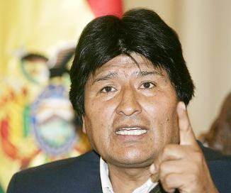 <!--:es-->Morales quiere llevar la lucha por la coca al G-77<!--:-->