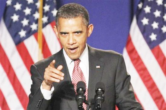 <!--:es-->Obama advierte al Congreso que actuará solo si no lo apoyan …Manifestante interrumpe discurso de Obama para gritarle «anticristo»<!--:-->