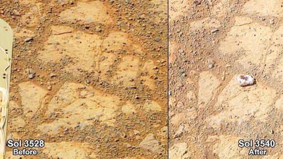 <!--:es-->NASA solves mystery of Mars 'doughnut' rock<!--:-->