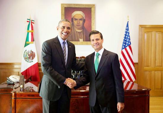 <!--:es-->Obama y Peña se comprometen contra el flujo de drogas<!--:-->