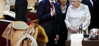 <!--:es-->Recibe reina Isabel II al presidente Peña Nieto en Reino Unido &#8230;La reina Isabel II de Inglaterra recibió oficialmente la mañana de este miércoles a Enrique Peña Nieto y a su esposa, Angélica Rivero, al iniciar la visita de Estado del presidente de México<!--:-->