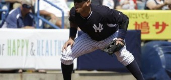 <!--:es-->A-Rod regresa a la tercera base en triunfo de Yankees<!--:-->