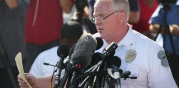 ...Thomas Jackson, jefe de la policía de Ferguson.