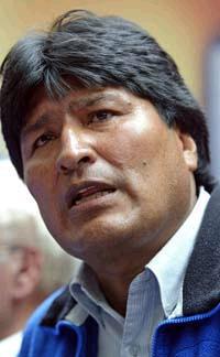 <!--:es-->Bolivian Leader claims assassination attempt<!--:-->