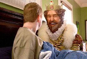 <!--:es-->A kingdom seeks magic  . . .  Burger King's quirky ads attract a cult following, if not many more sales<!--:-->