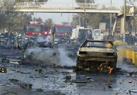 <!--:es-->Baghdad bombs kill 105<!--:-->