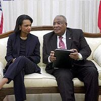 <!--:es-->US secretary of state urges 'fair' elections in Haiti<!--:-->