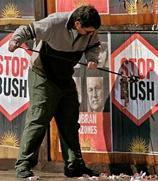 <!--:es-->Chavez, Maradona, protests await Bush summit visit<!--:-->