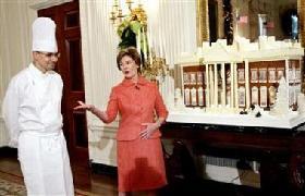 <!--:es-->Laura Bush predicts Rice won't run in 2008<!--:-->