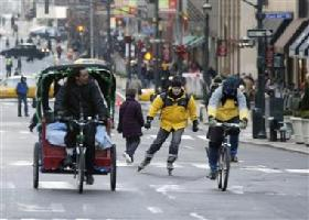 <!--:es-->NY commuters forced to improvise<!--:-->