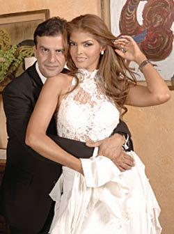 """<!--:es-->Ana Bárbara y """"El Pirru"""" juran amor ante el Altar<!--:-->"""
