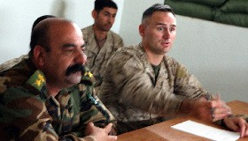 <!--:es-->Progress steady, Marines meet with Iraqi leaders, discuss security in Haditha Triad region<!--:-->