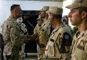 <!--:es-->Marines bid adieu to protectors of Haditha Dam<!--:-->
